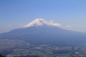 毛無山から富士