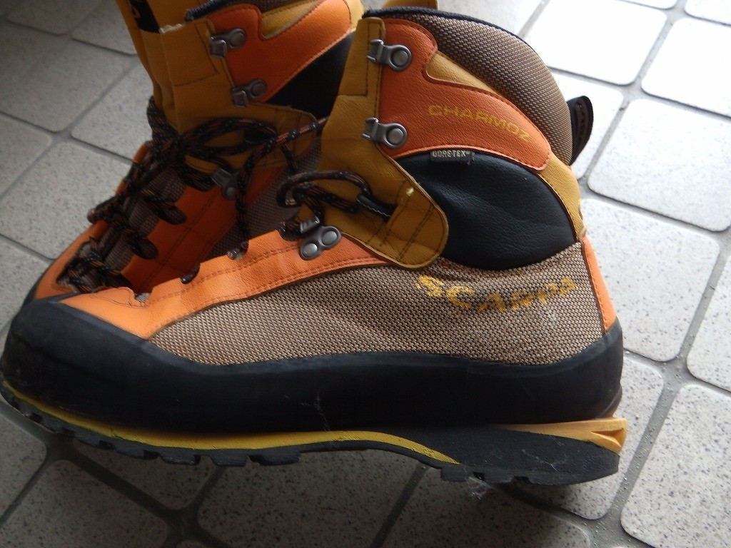 バックパック登山靴